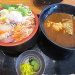 魚輝水産 - 料理写真:漁師丼定食