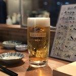 魚河岸酒場FUKU浜金 - 生ビール(大)