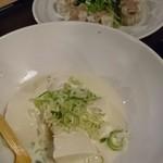 和食処 田舎家 - 豆腐と餃子