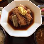 武蔵カントリークラブ - 料理写真:豚の角煮定食