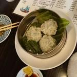 赤札屋 弁慶 - 海老ニラマン 380円  かなり本格的な味だ!