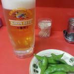 萬来 - 生ビール(中)2018.10.18