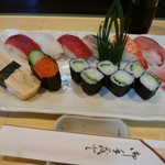 宝寿司 - 料理写真:ランチ寿司750円