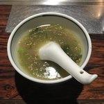 焼き鳥ハウス 泉竹林 - とりがらスープ ¥300