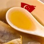 新加坡肉骨茶 - 熱々スープ