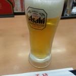 餃子の王将 - 生ビール2018.10.21