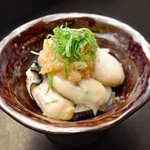 牡蠣おろしポン酢
