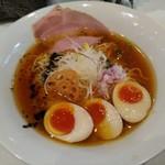 麺や 齋とう - 鶏旨味そば600円+煮玉子100円