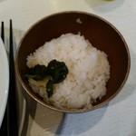 麺や 齋とう - ごはん100円