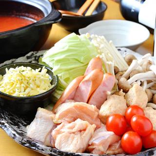 春夏秋冬を味わう鍋と、ここでしか味わえない逸品料理