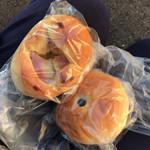 麦わらぼうし - 料理写真:ジャガベー  あんぱん