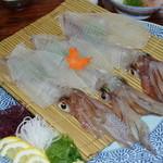旅館 金丸 - 料理写真:イカの造り