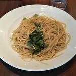95087703 - 小松菜のピリ辛オイルベーススパゲッティ 780円♪