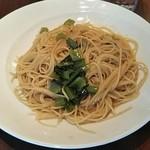 95087708 - 小松菜のピリ辛オイルベーススパゲッティ 780円♪