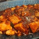 麻婆専門 永友 - 見慣れたタイプの麻婆豆腐です