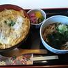蕎麦セイジ - 料理写真:カツ丼、ミニそば付