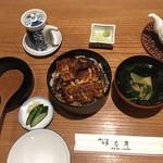 nishikisanchoumeibashou - 櫃まぶし+肝吸