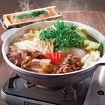 日南鶏と生つくねの塩ちゃんこ鍋