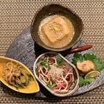 恩の時 - 料理写真:【季節の先付け八寸】
