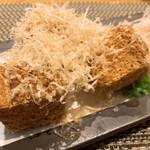 恩の時 - 自家製豆腐の厚揚げ アップ