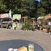 坂田屋本店 - 料理写真:シュタンベルクさんのホットドッグ&白ワイン