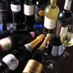 ラム酒場 羊美亭 - ボトルワイン各種取り揃えております♪