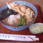 951115 - 温かい磯おろし蕎麦