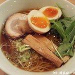 JAZZ麺 2.7 - 支那そば[大盛]+煮玉子