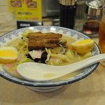 牡丹 - 料理写真:角煮ちゃんぽんセット
