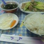 9510269 - 豚肉野菜炒めランチ¥500