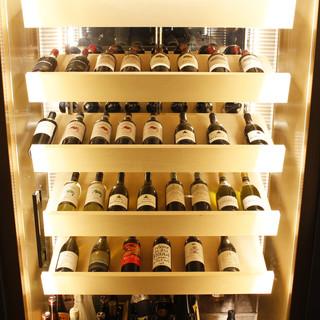お料理に合わせたワイン