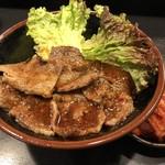焼肉丼 たどん - カルビ丼