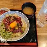 95106871 - 馬肉のユッケ丼¥890-