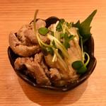 豊祝 - 鯛肝ポン酢(サービスセット)