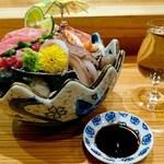 鮨バル ばんざい - お造り盛り合わせ