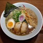 鶴橋らーめん食堂 鶴心 - 醤油らーめん(670円)