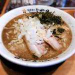 濃厚煮干しラーメン 麺屋 弍星 -