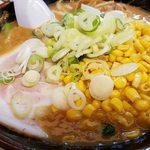 なりたけ - 料理写真:味噌らーめん+コーン