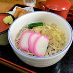 寿利庵 - *冷やしたぬき(そば)(¥550)
