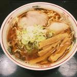 一藤 - 津軽煮干し中華(大盛り)¥590+¥100