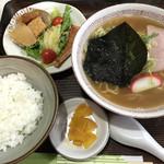 ひらまつ - 料理写真:中華そば定食