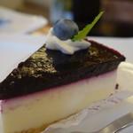ミルティーユ - (2018/8月)ブルーベリーチーズケーキ