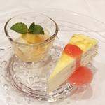 シェフズテーブル リセノワール - マスカルポーネチーズのミルクレープ