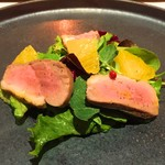 シェフズテーブル リセノワール - 自家製 鴨のスモーク・サラダ