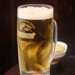 矗 - 生ビール