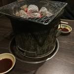 炭火焼肉屋台 たじま屋 - 七輪