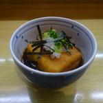 七福 - 揚げだし豆腐