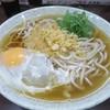 山陽そば - 料理写真:月見そば340円