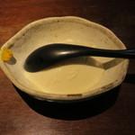 魚料理 ぎん - 焼き魚定食:鯖 ご飯 えのきと豆腐の味噌汁 自家製豆腐 小お造り あぶらげのお浸し 香の物6