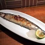 虎うま - 秋刀魚の塩焼